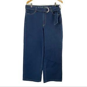 Reitmans R Jeans Wide Leg High Waisted Regular
